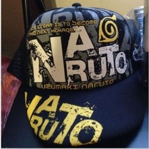 Baseball cap/hat with Naruto character & Konoha/leaf mark printing size ... - $13.00