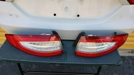 2013-16 Ford Fusion Trunk Lid & Tail Lights L&R w/o Camera image 1