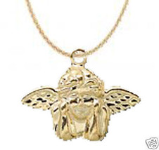 Funky CUPID CHERUB WINGED ANGEL NECKLACE Love Charm Jewelry Valentine's ... - $6.99