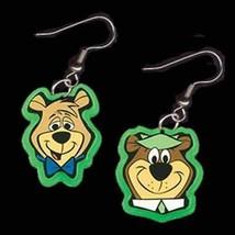 Funky BOO-BOO YOGI BEAR EARRINGS-Cartoon Character Charm Novelty Costume... - $5.99