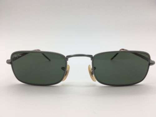 2334378bca Vintage Ray Ban NEW GATSBY Rectangle Sunglasses by Bausch   Lomb W2855