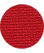 Xmas Red 28ct linen 36x27 cross stitch fabric Wichelt - $39.25
