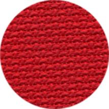 Xmas Red 28ct linen 13x18 cross stitch fabric Wichelt - $9.90