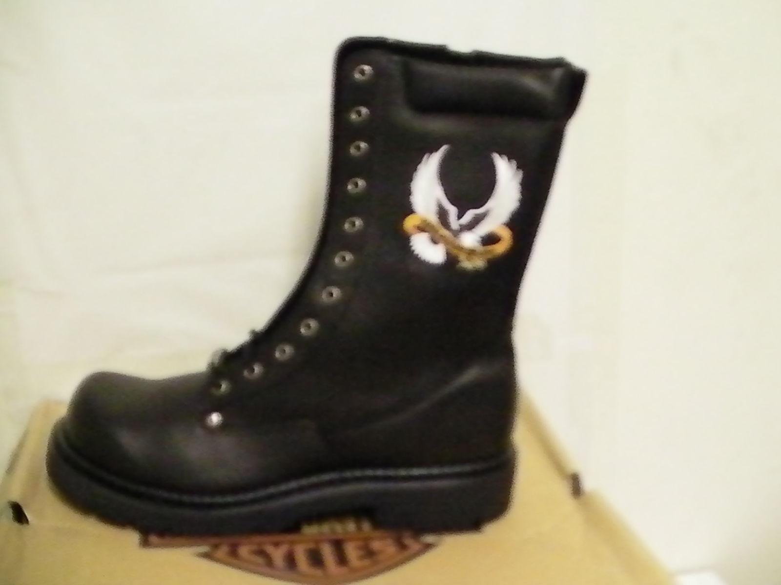 6d7aa2735460 Harley davidson boots free wheeler 10