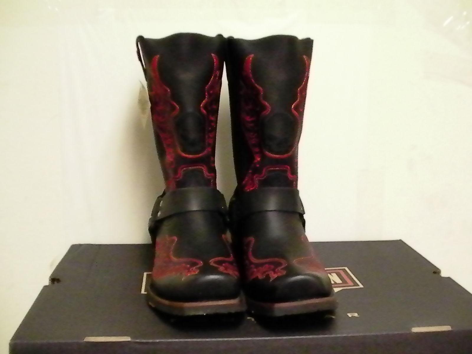 62f52094ce28 Harley davidson boots slayton riding oil resisting square toe size 7.5 us  new -  148.44