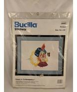 Bucilla Stitchery Clown in Contemplation Craft Kit 49497 - $9.13