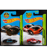 Hot Wheels NISSAN 370Z BLACK & RACING RED VARIANT HW WORKSHOP 2015 Brand... - £5.73 GBP