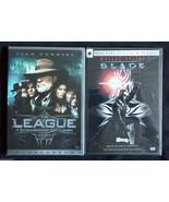 THE LEAGUE of EXTRAORDINARY GENTLEMEN & BLADE Action Heroes DVD MOVIES L... - $14.25