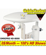 LAVA OMNIPRO HD-8000 360 DEGREES HDTV-DIGITAL AMPLIFIED OUTDOOR TV ANTEN... - $79.95