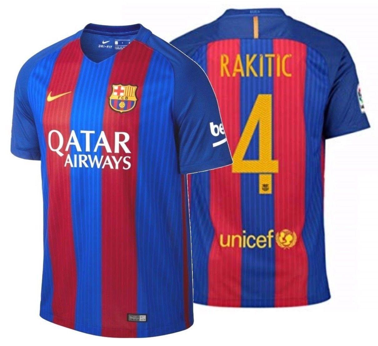 5db978aaac9 Nike Ivan Rakitic Fc Barcelona Home Jersey and 50 similar items. 57