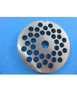 """#22 x 5/16"""" hole STAINLESS Meat Grinding Grinder Plate disc MTN Hobart L... - $19.55"""