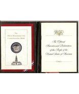 The Official Bicentennial Day Commemorative Medal 1976 [Hardcover] not a... - $35.63