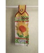 Sunflower Live, Laugh Love hanging towel - $3.30