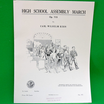 1939 Art Publication Society Teacher's Library Sheet Music, Issue 492 - $4.95