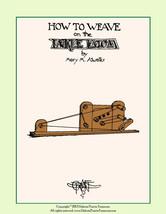 1941 Inkle Loom Book Card Tablet Weaving 24 Patterns DIY Braclets Anklets Native - $8.99
