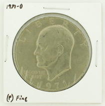1971-D Eisenhower Dollar RATING: (F) Fine N2-2512-6 - £1.58 GBP