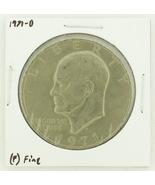 1971-D Eisenhower Dollar RATING: (F) Fine N2-2512-6 - $2.00