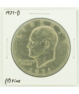 1971-D Eisenhower Dollar RATING: (F) Fine N2-2512-8 - £1.60 GBP
