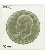 1971-D Eisenhower Dollar RATING: (F) Fine N2-2512-8 - €1,76 EUR