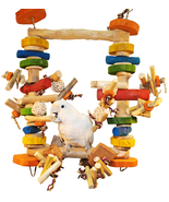 The ULTIMATE Chew & Swing Delight Bird Toy – Su... - $29.95 - $49.95