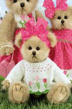 """Bearington Bears """"Tatum Tulip"""" 10"""" Plush Bear- #143231- NWT-2010 -Retired - $24.99"""