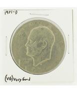 1971-D Eisenhower Dollar RATING: (VG) Very Good N2-2513 - £1.52 GBP