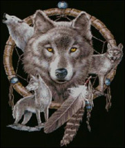 Dreamcatcher and Wolves Cross Stitch Pattern***LOOK*** - $4.95
