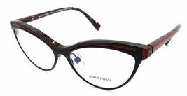 Alain Mikli Rx Eyeglasses Frames A03072 002 54-16-140 Matte Black / Red Italy - $103.41