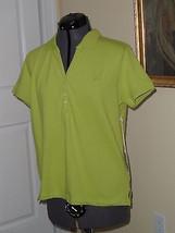 Caribbean Joe Knit Top Shirt Size Pl Stretch Green Msrp: $30.00 Nwt - $16.95