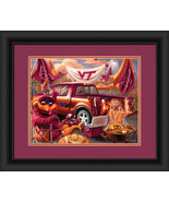 "Virginia Tech Hokies ""Tailgate Celebration""-15x18 Framed Print - $39.95"