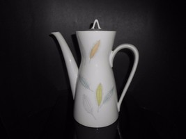 Rosenthal China Loewy Bunte Blatte Colored Leaves Coffee Pot 1950's - $33.25