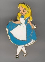 Alice  in Wonderland white stockings Curtsey Authentic Disney Pin - $24.99
