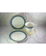 Royal Doulton 1985 Greyfriars Cup Saucer And Dessert Plate Set #5068 - $23.39