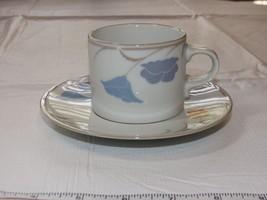 """Dansk Tivoli La Tulipe Tea Cappaccino Cup & Saucer 5 3/4"""" saucer 2 3/4"""" ... - $14.84"""