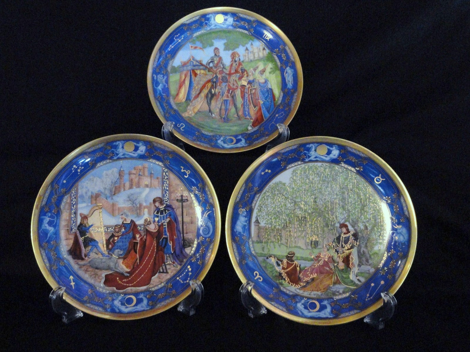 Hutschenreuther Love For All Seasons Winter Romance Collector Plates Set of 3 & Hutschenreuther Love For All Seasons Winter and 50 similar items
