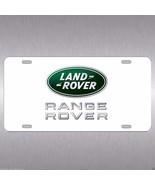 Land Rover Aluminum Vanity License Plate Evoque Range Rover White Green ... - $14.99