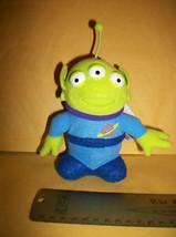 Disney Plush Booklet Alien Toy Story Teacher's Pet Keychain Clip Scholas... - $6.64
