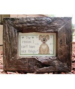 Nice Things II dog cross stitch chart Designs by Lisa - $6.30
