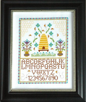 Beehive Sampler cross stitch chart Tiny Modernist Inc - $9.00