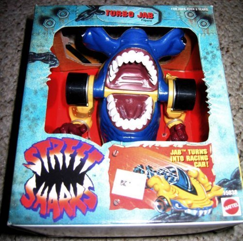 Street Sharks Toys : Street sharks turbo jab action figures