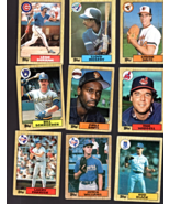 Topps Cards -1987 Baseball Cards- lot of 15 cards - $6.95