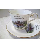 Newfoundland Cup & Saucer Set Kent China made in England - $14.00
