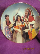 The Naming Ceremony Hamilton Collector Plate -Proud Indian Families Series 1991 - $20.00