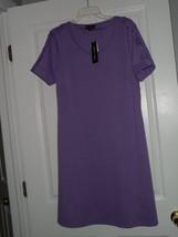 SPENSE KNIT DRESS SIZE 8 STRETCH LILAC  NWT - $21.79
