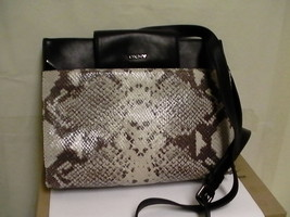 DKNY donna karan cross body bag python new  - $98.95