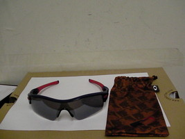 Oakley sunglasses radar path mlb T red blue grey iridium lenses 2014 - $158.35