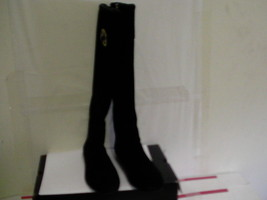 TORY BURCH IRENE EQUESTRIAN CALF RIDING BOOTS SOFTY SUEDE size 5 women - $222.70