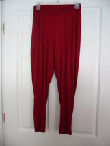 Bella D. Knit Pants Size Xs Red Stretch Nwt - $17.98