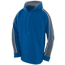 Augusta 5524 Youth Zest Hoody - Royal/Graphite/White - $26.11