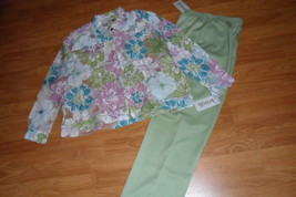 LADIES PANTS SIZE 8  KENNETH TOO & SHIRT SIZE M KENNETH TOO NWT - $29.99